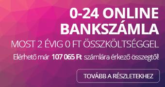CIB ECO 0 Ft-os bankszámla